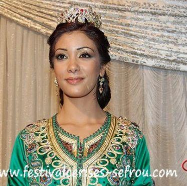 الوصيفة الأولى، صفاء طواش، من مدينة القنيطرة، من مواليد 1990، تمارس التمثيل وتدرس تسيير المقاولات.