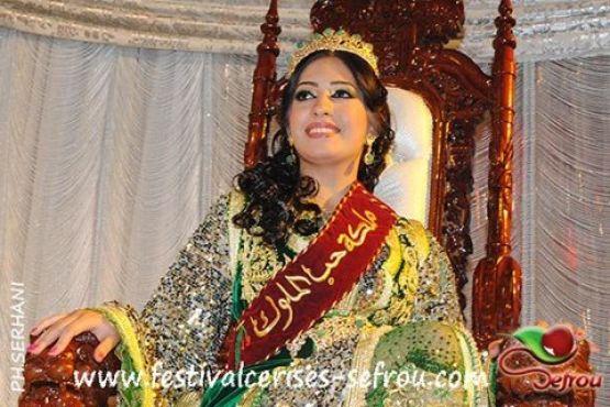 صبرينا علام ملكة جمال حب الملوك لسنة 2012