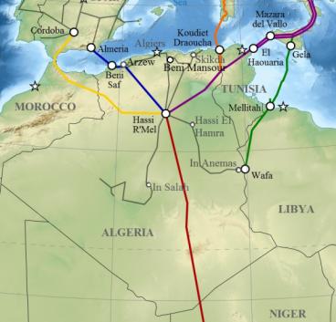 الجزائر تطمئن إسبانيا وتتحدث عن خيارات لنقل الغاز دون المرور عبر المغرب